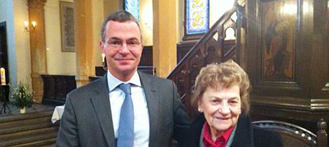 Ehrenamtlerin des Monats Januar 2013 Ruth Hahnsch