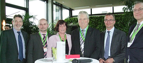 Ehrenamtler des Monats Februar 2013 Norbert Gölitzer (3. von rechts)