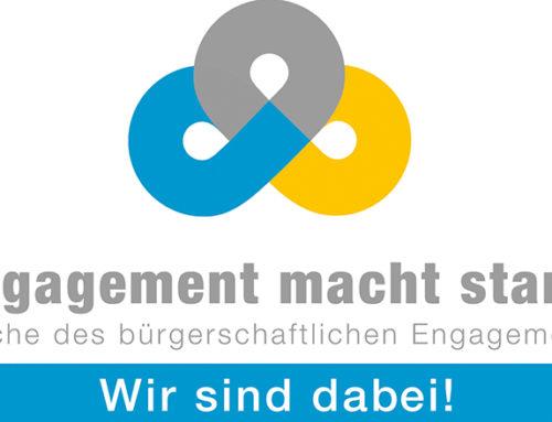 Engagementkalender ist freigeschaltet – 15. Woche des bürgerschaftlichen Engagements
