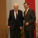 Ministerpräsident a.D. Matthias Platzeck mit Dr. Albrecht Schönherr