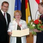 Ministerpräsident a.D. Matthias Platzeck mit Almut Berger