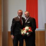 Ministerpräsident a.D. Matthias Platzeck mit Andreas Rohde