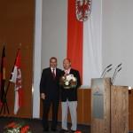 Ministerpräsident a.D. Matthias Platzeck mit Arnold Kuchenbecker