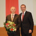 Ministerpräsident a.D. Matthias Platzeck mit Dr. Axel Walter