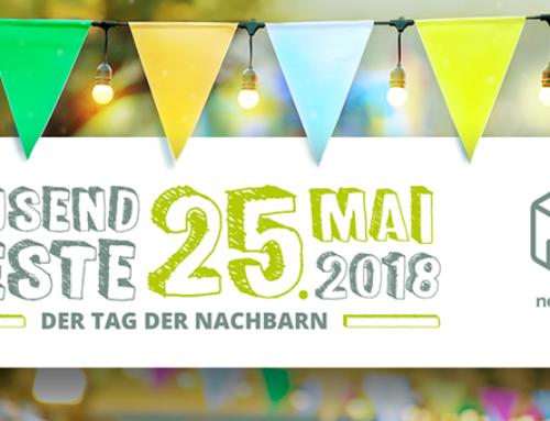 Jetzt vormerken: Nächster Tag der Nachbarn am 24. Mai 2019