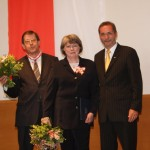 Ministerpräsident a.D. Matthias Platzeck mit Barbara und Winfried Junge