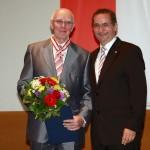 Ministerpräsident a.D. Matthias Platzeck mit Prof. Bernd Wefelmeyer