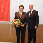 Ministerpräsident Dietmar Woidke mit Bernhard Groß