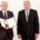 Bundespräsident Joachim Gauck zeichnet am 04.10.2016 in Berlin Eckhard Fichtmüller (l) anlässlich des Tags der Deutschen Einheit mir dem Verdienstorden der Bundesrepublik Deutschland aus. Foto: Kay Nietfeld/dpa | Verwendung weltweit