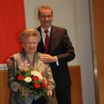 Ministerpräsident a.D. Matthias Platzeck mit Dr. Carola Wolf