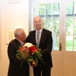 Ministerpräsident Dietmar Woidke mit Czeslaw Fiedorowicz