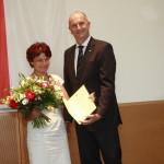 Ministerpräsident Dietmar Woidke mit Danuta Nowak