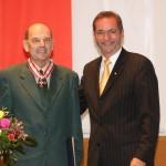 Ministerpräsident a.D. Matthias Platzeck mit Dieter Kartmann