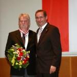 Ministerpräsident a.D. Matthias Platzeck mit Eberhard Weichenhan