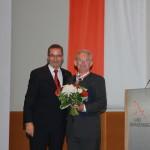 Ministerpräsident a.D. Matthias Platzeck mit Eckhard Fichtmüller