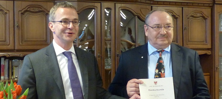 Ehrenamtler des Monats März 2014 Burkhard Thomaschewski