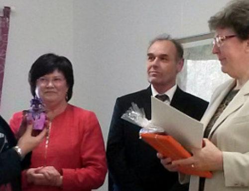 Staatskanzlei ehrt Christel Fielauf aus Tempelberg für Vereinsarbeit