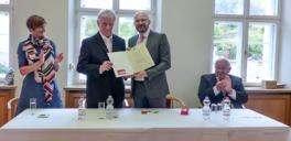EdM Sept Erik Rohrbach mit StS Kralinski_Staatskanzlei