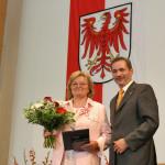Ministerpräsident a.D. Matthias Platzeck mit Edelgard Neukirch