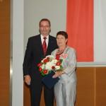 Ministerpräsident a.D. Matthias Platzeck mit Edith Lowack