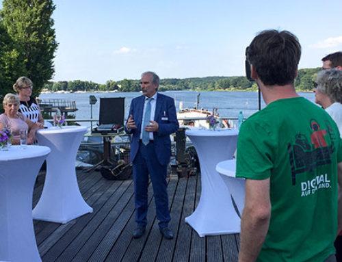 Ehrenamtsempfang beim Brandenburger Sommerabend