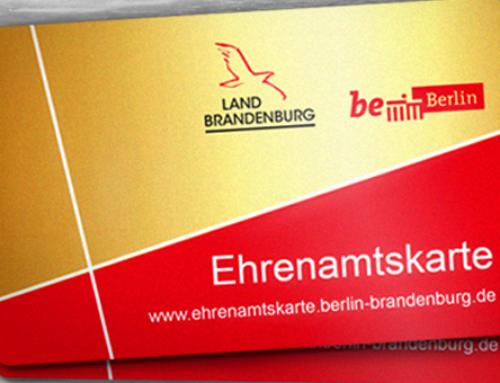 Ab sofort: Online-Sammelantrag für die Ehrenamtskarte Berlin-Brandenburg