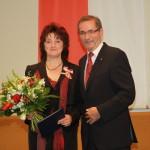 Ministerpräsident a.D. Matthias Platzeck mit Ellen Lösche