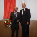 Ministerpräsident Dietmar Woidke mit Erhard Thomas