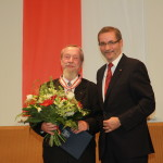 Ministerpräsident a.D. Matthias Platzeck mit Ernst-Ullrich Neumann