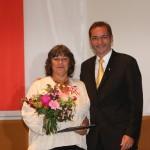 Ministerpräsident a.D. Matthias Platzeck mit Eveline Joppien