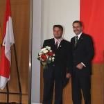 Ministerpräsident a.D. Matthias Platzeck mit Fred Loose