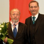Ministerpräsident a.D. Matthias Platzeck mit Friedwart Neue