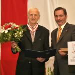 Ministerpräsident a.D. Matthias Platzeck mit Günter de Bruyn