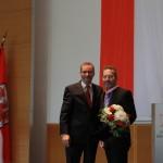 Ministerpräsident a.D. Matthias Platzeck mit Gerard Pieper