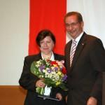 Ministerpräsident a.D. Matthias Platzeck mit Gudrun Heydeck