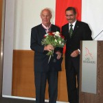 Ministerpräsident a.D. Matthias Platzeck mit Prof. Dr. Gunther Wolff