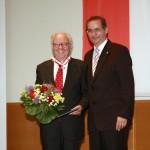 Ministerpräsident a.D. Matthias Platzeck mit Prof. Dr. Hanno Schmitt