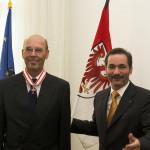 Ministerpräsident a.D. Matthias Platzeck mit Prof. Dr. Hans-Jürgen Vogel