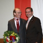 Ministerpräsident a.D. Matthias Platzeck mit Dr. Hans Otto Bräutigam