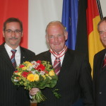 Ministerpräsident a.D. Matthias Platzeck mit Hans-Peter von Kirchbach