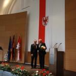 Ministerpräsident a.D. Matthias Platzeck mit Hans-Ulrich Schulz