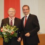 Ministerpräsident a.D. Matthias Platzeck mit Prof. Dr. Hans Weiler