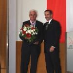 Ministerpräsident a.D. Matthias Platzeck mit Harald Lax