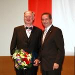 Ministerpräsident a.D. Matthias Platzeck mit Harry Müller