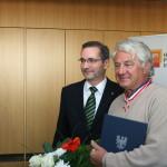 Ministerpräsident a.D. Matthias Platzeck mit Prof. Dr. Hasso Plattner