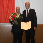 Ministerpräsident Dietmar Woidke mit Heiner van de Loo