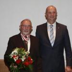 Ministerpräsident Dietmar Woidke mit Heinz-Joachim Schmidtchen