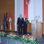 Ministerpräsident a.D. Matthias Platzeck mit Heinz Maintok