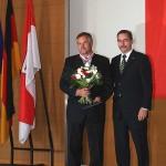 Ministerpräsident a.D. Matthias Platzeck mit Hellmuth Riestock