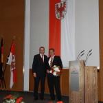 Ministerpräsident a.D. Matthias Platzeck mit Helmut Hoffmann